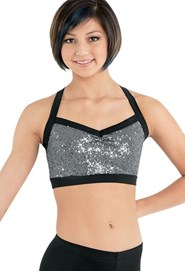 Sequin Bra Top