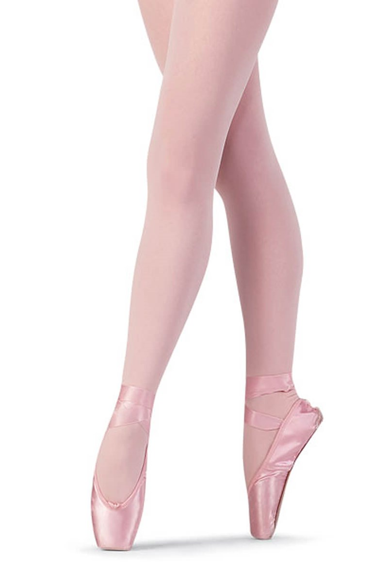 Girls Soft Feel Footed Dance Tights Bloch