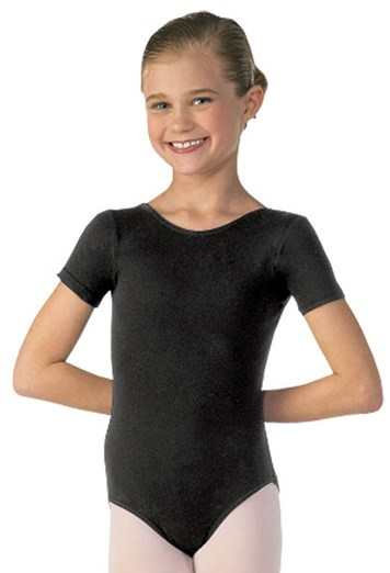 6805d9115223 Girls  Short Sleeve Dance Leotard