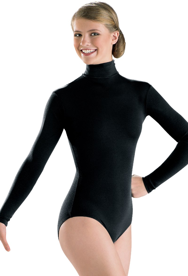 d44ba79b1e68e Adult Long Sleeve Turtleneck Leotard | Capezio